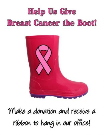 It's Breast Cancer Awareness Month!