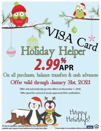 VISA Holiday Helper