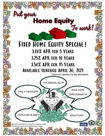 Put Your Home Equity To Work!