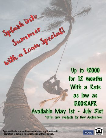 Splash Into Summer With A Loan Special!