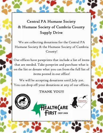 CPHS & HSCC Supply Drive