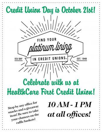 Credit Union Day!!!